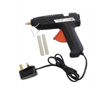 Electric hot melt glue gun- black