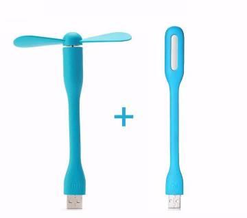 USB ফ্যান এন্ড লাইট