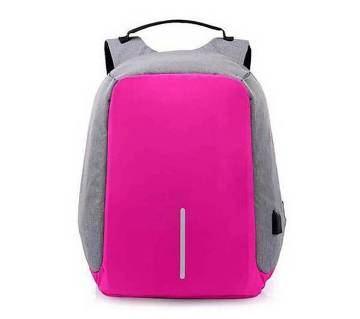 Anti theft backpack- USB charging port