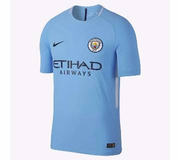 2017-18 Manchester City Home Half Sleeve Club Jersey