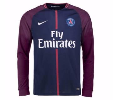 2017-18 Paris Home Full Sleeve Club Jersey