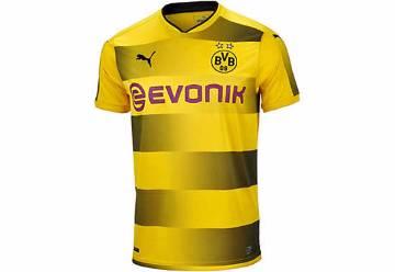 2017-18 Borussia Dortmund home half Sleeve club Jersey