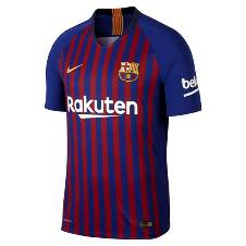 2018-19 Barcelona Home Half Sleeve Jersey (Copy)