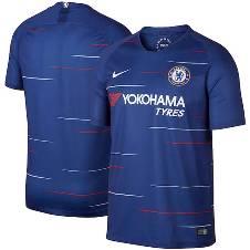 2018-19 Chelsea Home Half Sleeve Jersey (Copy)