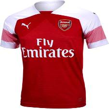 2018-19 Arsenal Home Half Sleeve Jersey (Copy)
