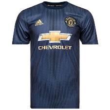 2018-19 Manchester United Third Half Sleeve Jersey (Copy)