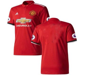 Manchester United Club Home Jersey 2017-18 For Men