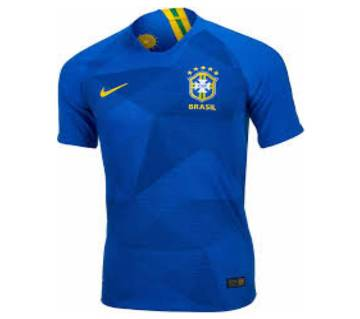 2018 World Cup Brazil Away Half Sleeve jersey (Copy)