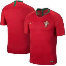 2018 World Cup Portugal Home Half Sleeve Jersey (Copy)