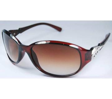2854 Brown Silver Ladies sunglasses