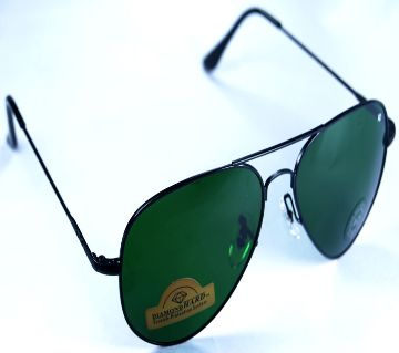 AO Diamond Black-Green Sunglass-Copy