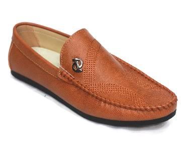 Full Leather Loafer Shoe for Men