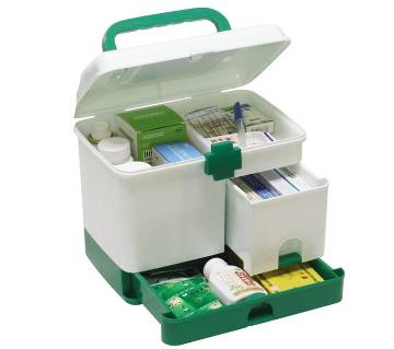 Plastic Storage Aid Boxes