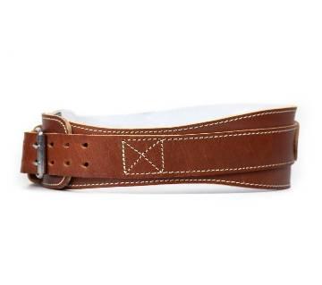 4-inch Leather Contour ওয়েট লিফটিং বেল্ট