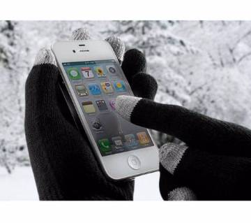 winter touch screen gloves-3 pair