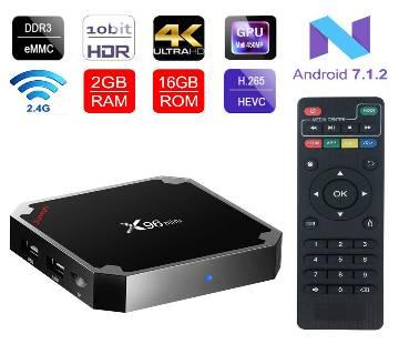 Smart TV Box - X96 Mini Amlogic S905W Android 7.1 TV BOX 2GB 16GB Quad Core KD17