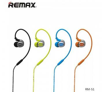 REMAX RM-S1 Sporty EAR PHONE- 1 pc