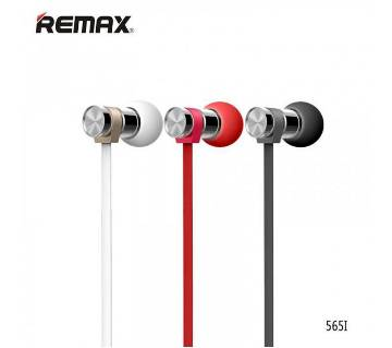 Remax RM- 565i Stainless Steel earphone
