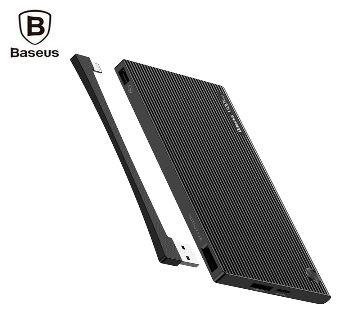 Baseus Esazi Series 10000mAh Digital Display Power Bank Dual USB Micro USB Type-C