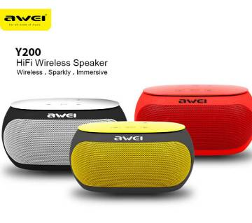 Awei Y200 HiFi Wireless Bluetooth Speaker- 1 pc
