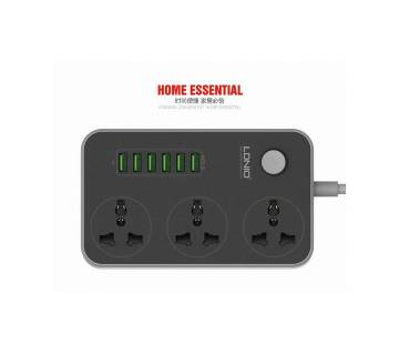 LDNIO 3-Outlet Surge Protector Power Strip