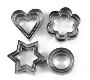 12 Pieces Cookie Cutter