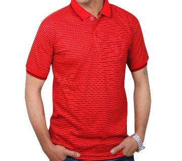 GENTS STRETCHABLE SHORT SLEEVE POLO SHIRT