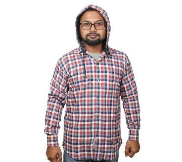 Mens full sleeve hoodie shirt