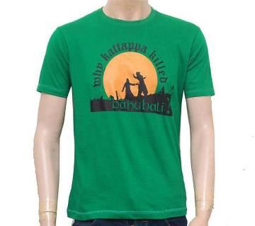 BAHUBALI Printed Gents T-Shirt