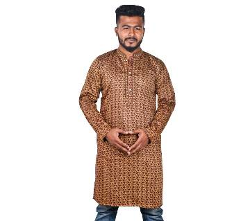 INDIAN MENS SEMI LONG PUNJABI