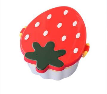Strawberry Design Tiffin Box