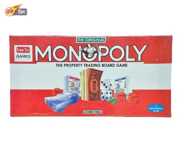 Monopoly real estate trading game