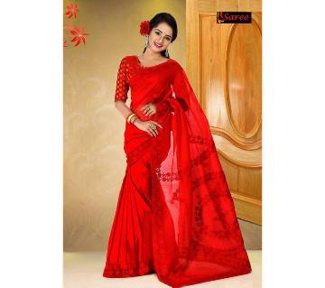 Pure Muslin Silk Saree
