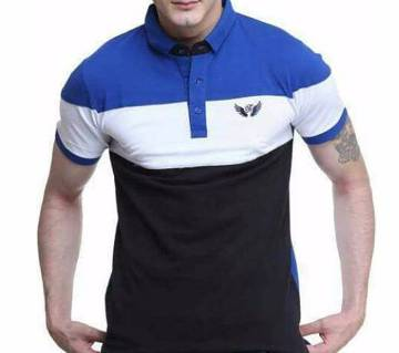 Gents Half Sleeve Multi-color Polo Shirt