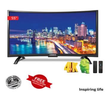 "Linnex 55"" Curved Smart LED TV"