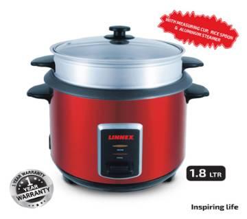 Linnex রাইস কুকার - 1.8ltr - রেড