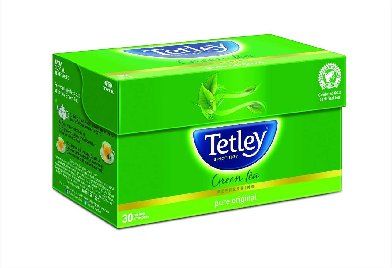 Tetley Green Tea (Pure Original) Tea Bags 25 pcs