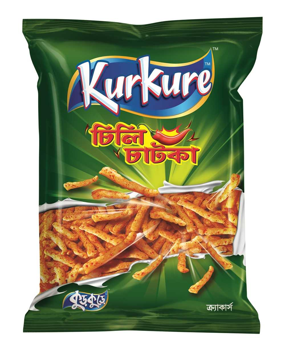 Kurkure Chili Chatka Chips 45 gm