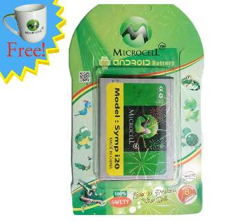 Microcell Android Symphony i20 Battery (Mug Free)