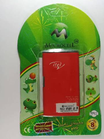 Microcell Green i-Tel BL-25Bi Battery