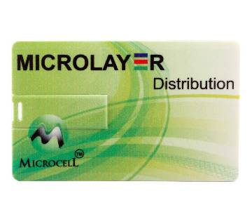Microcell 8GB Card shape পেন ড্রাইভ