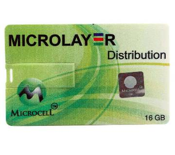 Microcell 16GB Card shape পেন ড্রাইভ