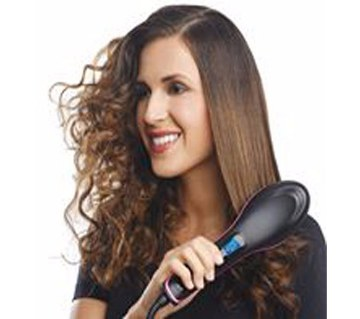 Simply Straight ceramic straightener hair brush