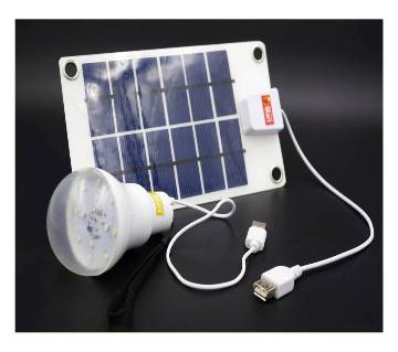 Solar panal charging Light & Mobile charger