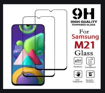 FULL HD Transparent 9H Screen Protector 9D Tempered Glass for Samsung Galaxy M21