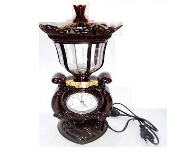 Art Work Lamp Clock Showpiece