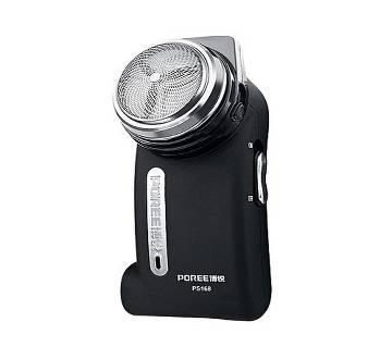 Poree Electric Shaver - Black