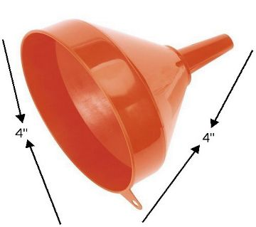 Plastic Oil Funnel 5pis