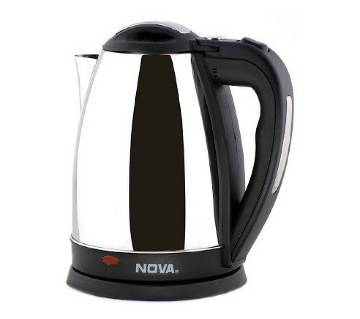 Electric Kettle 2L - Black and Silver