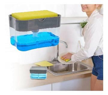Soap Dispenser and Sponge Caddy